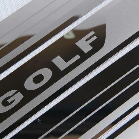 vw golf7 スカッフプレート ステンレス 4個セット ドアシルガード