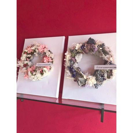 【2019秋婚・10~12月納期】両親贈呈用ピクチャーリースセット(キャンバス)