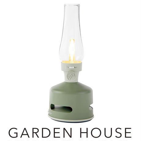LED ランタンスピーカー GARDEN HOUSE (グリーン色) FLS-1705- GR