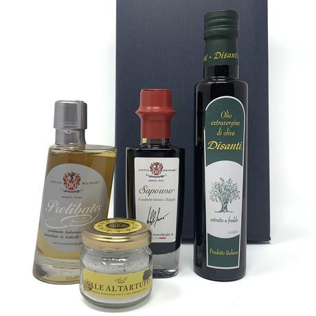 ギフト|EXVオリーブオイルとイタリアグルメ調味料セレクトセット