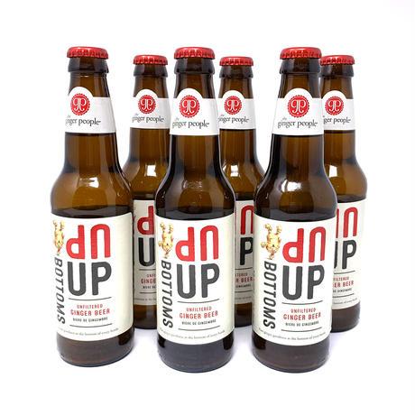 Bottoms Up ジンジャービア 355ml  6本セット