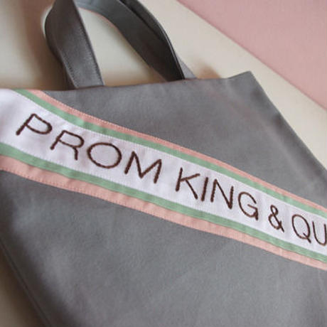 """PROM KING & QUEEN"" レッスン・バッグ"