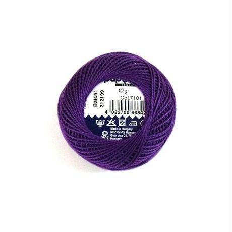 ハンガリー刺繍糸【7101】紫