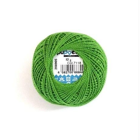 ハンガリー刺繍糸【7118】黄緑