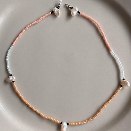 beads necklace Pearl