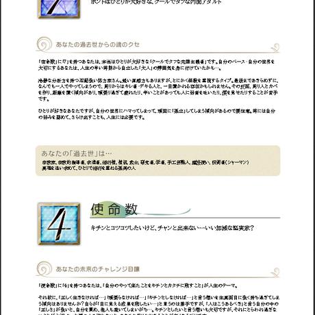 開運未来流手相リーディング&数秘 総合メール鑑定