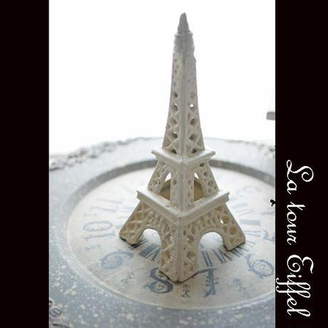 小さなパリをお部屋に。 白いエッフェル塔
