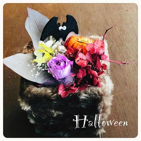 キュートなハロウィンアレンジ 気まぐれSALE プリザーブドフラワー・季節を楽しむフラワーアレンジメント 誕生日 出産祝い 秋