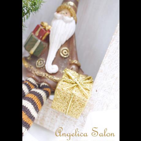 インスタライブ特別価格! 一年中飾りたくなる、大人のクリスマスツリーアレンジ 壁掛け 置き型 2Way  サンタ付