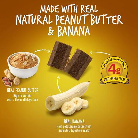 ナチュラルプロテインバー リアルピーナツバター&バナナ 170g