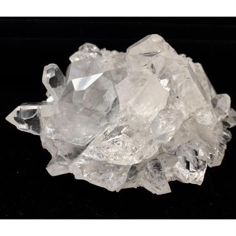【高品質】水晶クラスター120g①