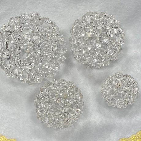 高波動⭐︎神聖幾何学フラーレン 水晶バッキーボール 直径約66mm