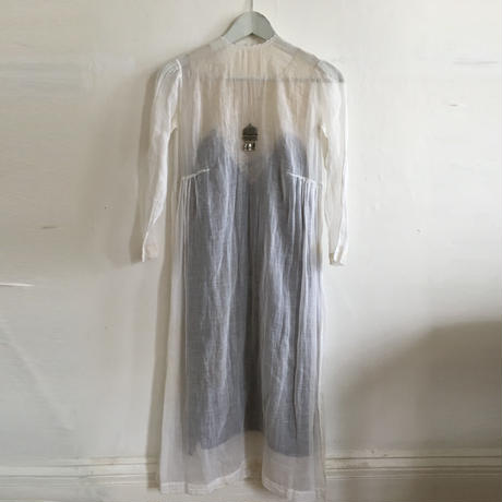 Late 19th c. French cotton dress