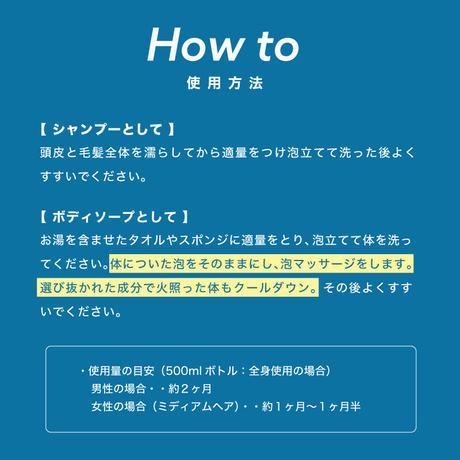 【定期購入・送料無料】エーエスシャンプー 500ml ※一部地域を除く