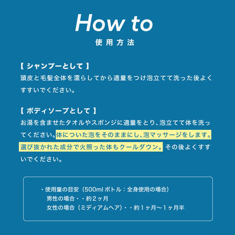 【5袋セット】エーエスシャンプー 10ml