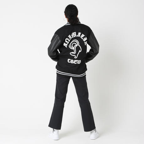 【AWARD JACKET】BLACK x WHITE