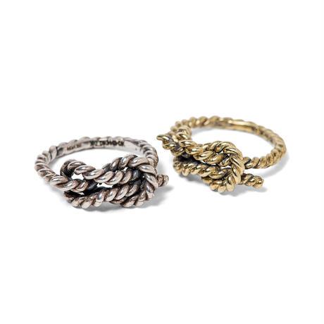 REEF KNOT Ring-BRASS