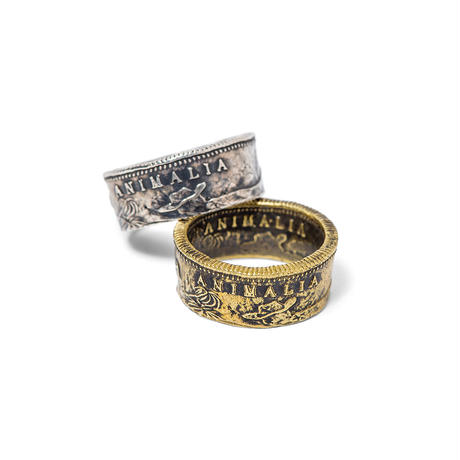 CA1849 Coin Ring-BRASS