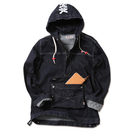 """APACHE-Stretch Denim Anorak"""
