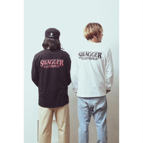 """""""SWAGGER CLOTHINGS"""" L/S TEE"""