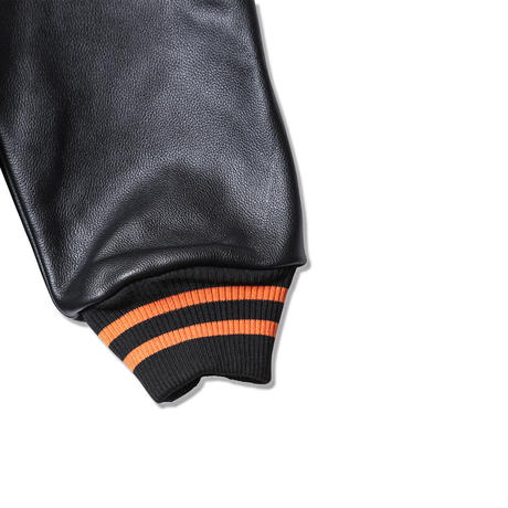 【AWARD JACKET】BLACK x ORANGE