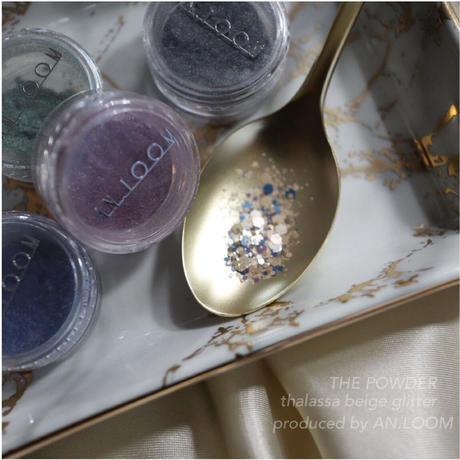 thalassa beige glitter
