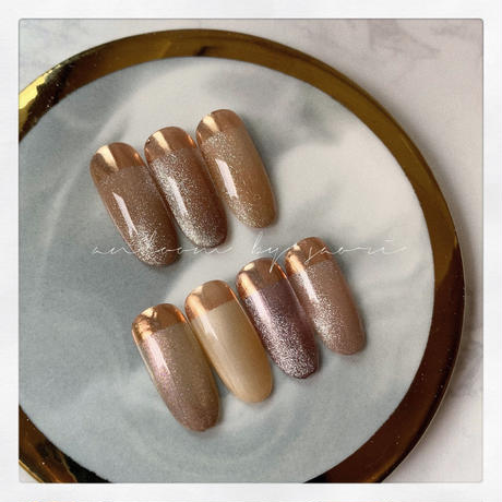 mirror powder -bronze bommer-