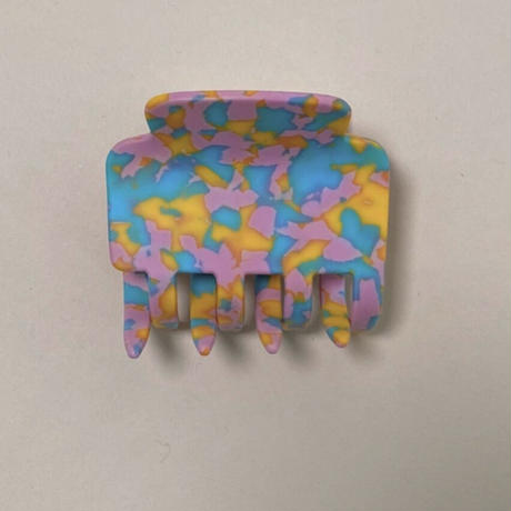 POTETE matte camouflage hair clip
