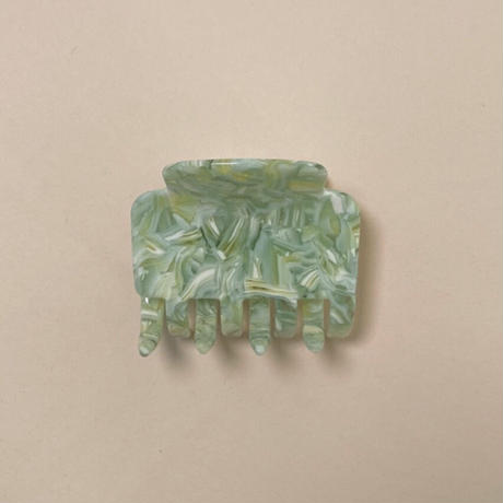 POTETE marble hair clip