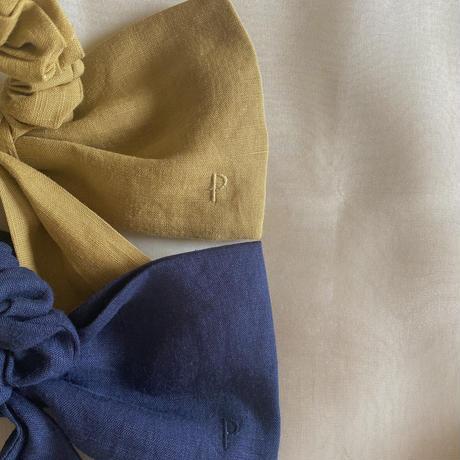 """POTETE """"linen ribbon""""chouchou"""
