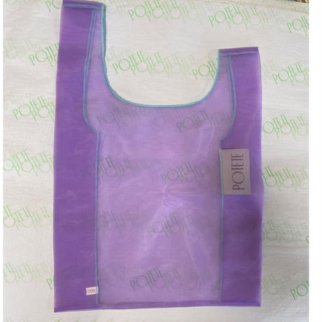 POTETE  organdy shopping bag