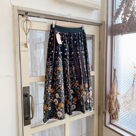 used euro flower skirt