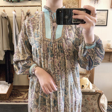 vintage india cotton dress