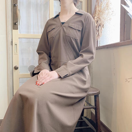 used cotton color dress