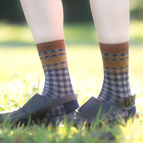 roro cloth socks(navy blue)