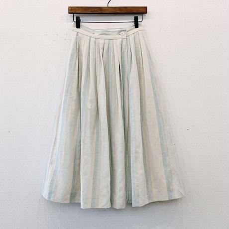 used stripe skirt