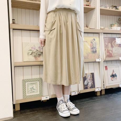 used silk skirt