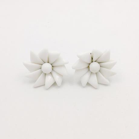 used flower earring