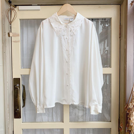 used white blouse