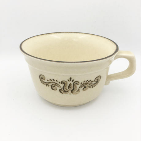 antique  cup and bowl