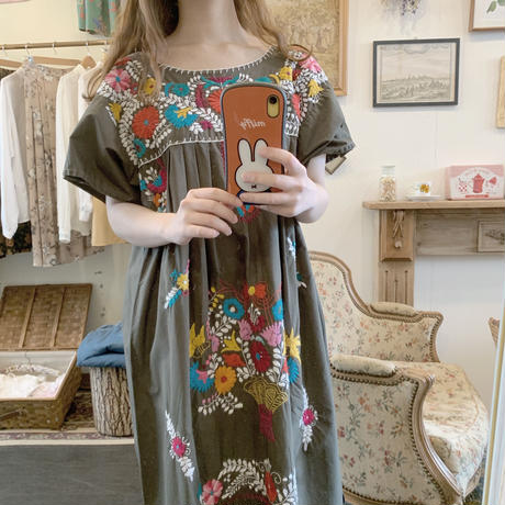used us embroidery dress
