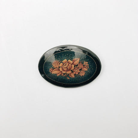 used painting brooch