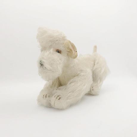 antique  Steiff poodle