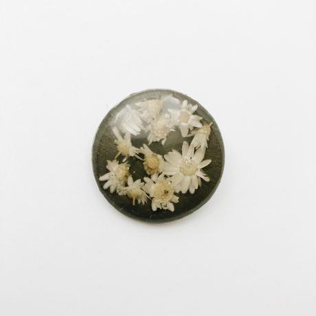 used flower brooch