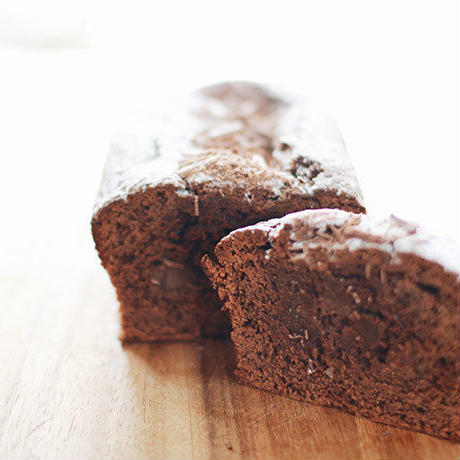 チョコレートのパウンドケーキ