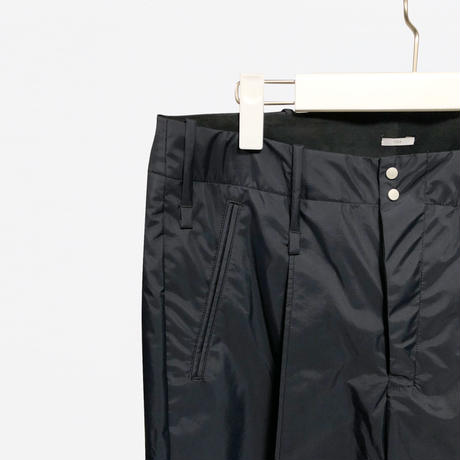 3LAYER WIDE PANTS /BLK