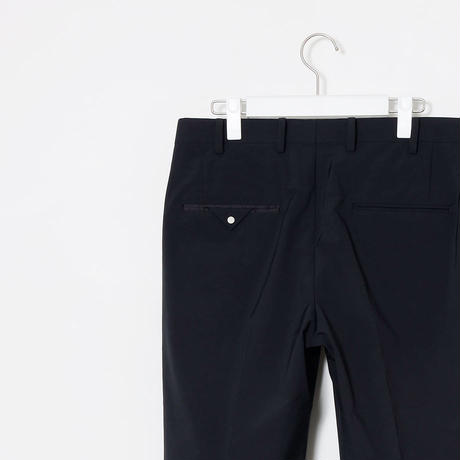Y.O.N. N/P  SUIT TROUSERS / BLACK