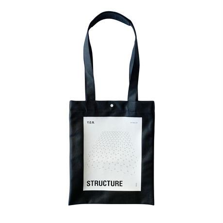 Ultrasuede® TOTE BAG / BLACK (ONLINE EXCLUSIVE)
