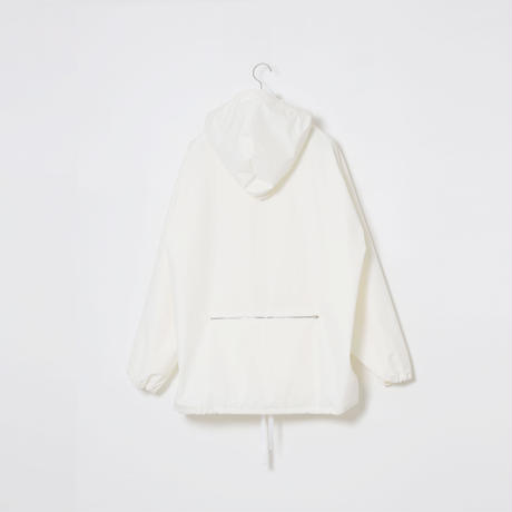 3LAYER 2WAY ZIP PARKA / WHT