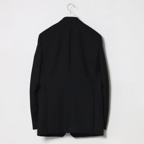 BRITISH WOOL TWOPIECE SUITS / BLACK
